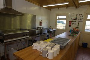 Tea, Coffee and Hot Food facilities in the Cafe